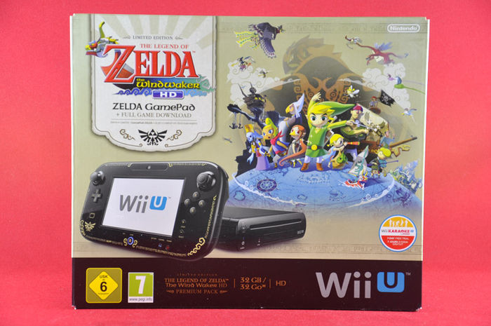 2192be374bd Nintendo Wii U Zelda Wind Waker HD Premium Pack 32GB - Catawiki