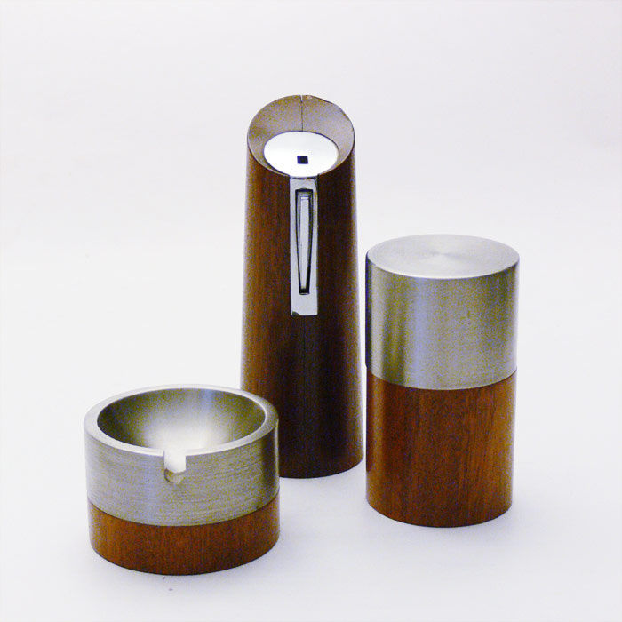 Andre Ricard for Flamagas - 3 piece smoking set, Oslo