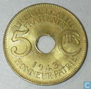 French Equatorial Africa 5 centimes 1943