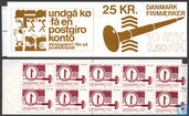 50 Danish engraved stamp