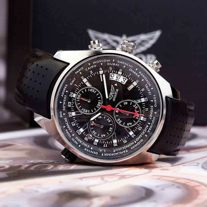 31e1770e500d AVIATOR CHRONOPILOT - RELOJ DE AVIADOR - ESTADO IMPECABLE (13 ...