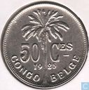 Belgian Congo 50 centimes 1925 (French)