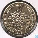 Central African States 25 francs 1998