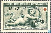 Postage Stamps - France [FRA] - Basin of Diana Relief