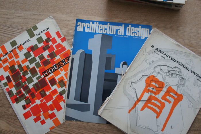 Architecture; Architectural Design Magazine   6 Volumes   1960/1968