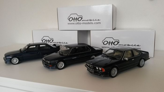 Otto Mobile Scale 1 18 Lot Of 3 Bmw Alpina Models