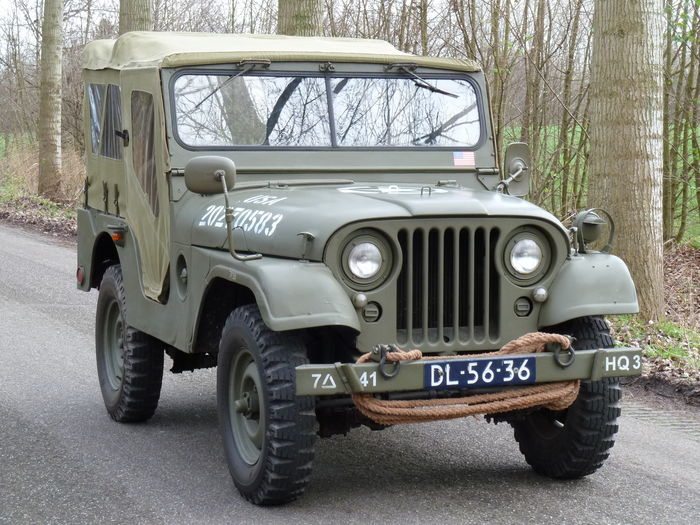 nekaf m38a1 willys jeep convertible 1956 catawiki. Black Bedroom Furniture Sets. Home Design Ideas