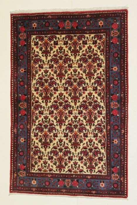 COLLECTIBLE, très beau tapis TAFRESH, Iran, noué à la main  200 x 130 cm