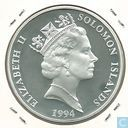 "Solomon Islands 10 Dollars 1994 (PROOF) ""olympic games 1996"""