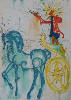Salvador Dali (after) - Le Cheval de Triomphe