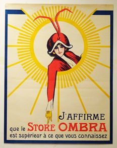 Anonymous - Store Ombra (zonwering) - ca. 1930