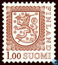 Timbres-poste - Finlande - Armoiries nationales