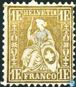 Postage Stamps - Switzerland [CHE] - Seated Helvetia