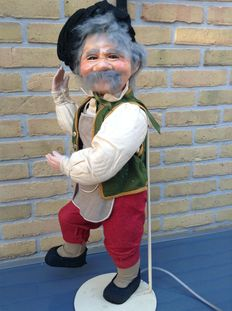 Walt Disney's Gepetto (the father of Pinoccio) antique movable automaton.
