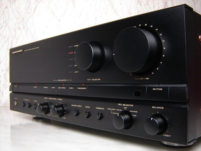 Marantz Stereo Amplifier PM-82 + ST-72L - Catawiki