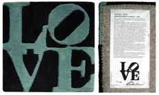 Robert Indiana - Fall LOVE, Winter LOVE