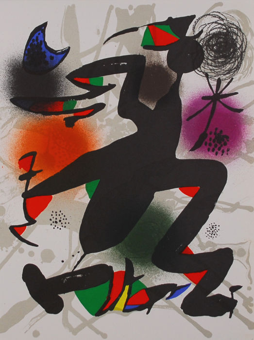 Joan Miró - collection of 2 articles
