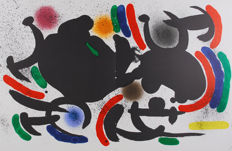 Joan Miró - Litografia Original VII, VIII, IX and X