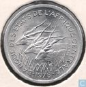 Central African States 1 franc 1976