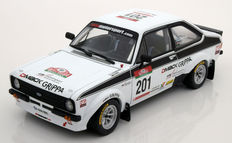 Sun Star - Scale 1/18 - Ford Escort RS1800 #201 - Winner Rally Portugal Revival 2010 - Limited 926 pieces - Drivers: Kankkunen/Grist