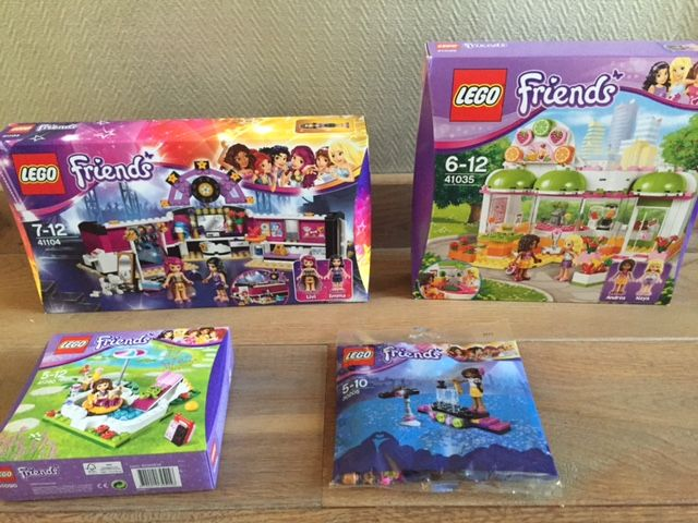 Friends 41104 41035 41090 30205 pop star for Lego friends olivia s garden pool 41090