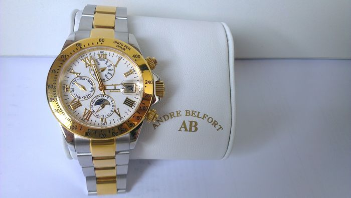 incontrare 68f29 cdfb1 André Belfort Le Capitaine – men´s wristwatch – 2016 – never worn - Catawiki
