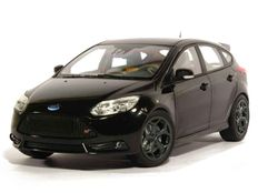 Minichamps - Scale 1/18 - Ford Focus ST 2011 - Black