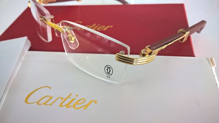 cartier – glasses – unisex - catawiki