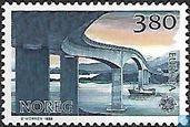 Briefmarken - Norwegen - Europa – Transport und Kommunikation