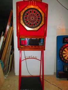 Dart Machine with Original Kursal Stand