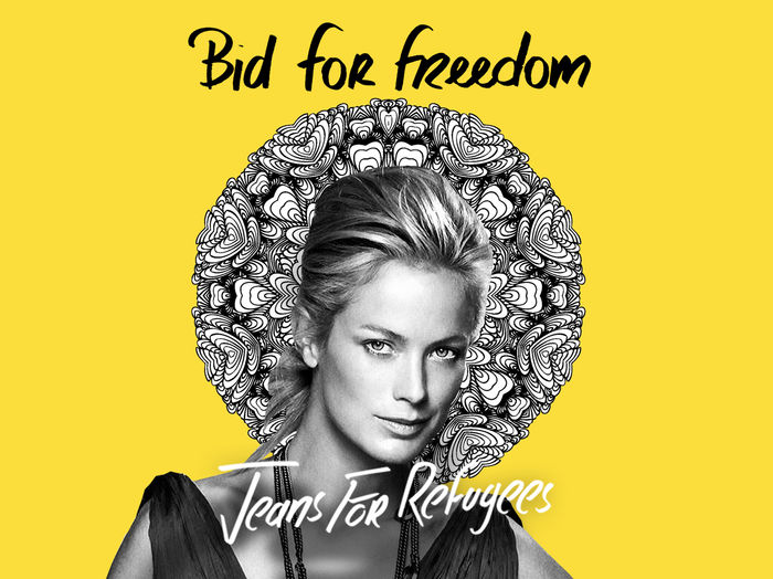 Carolyn Murphy's 'Jeans for Refugees'