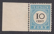 The Netherlands 1887 - postage numeral and value black - NVPH P7B A type I, with certificate.