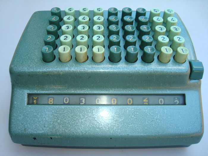 Mechanical calculator - Bell Punch Company - Limited model Plus
