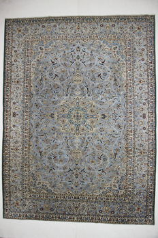 Very lovely Persian carpet, hand-knotted, NAJAFABAD, Iran, 20th century, 350 x 258 cm