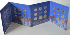 "Belgium – Year collection 1999/2001 ""Triple set / euro intro set"