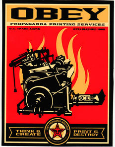 Shepard Fairey (OBEY) - Propaganda Printing Services