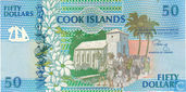 Cook Islands 50 Dollars