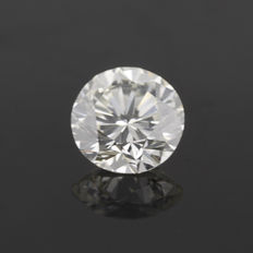 0.52 ct brilliant cut diamond Rare White (G) VS2 **LOW RESERVE**