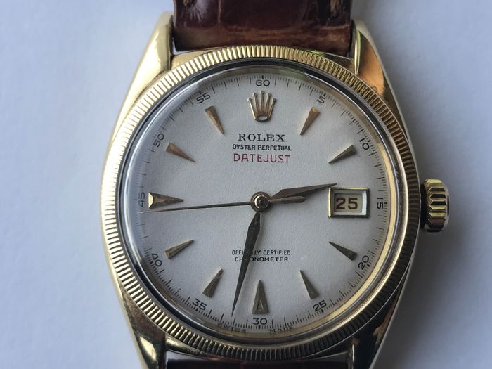 a85c9ddca98 Rolex Oyster Perpetual Datejust - Bubbleback - Modelo