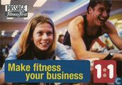 "2367 - Passage Fitness First ""Make fitness your business"""