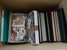 World - Batch of over 30,000 stamps in 18 stock books and albums and loose