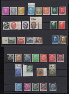 German Reich 1926/1942 - a small selection