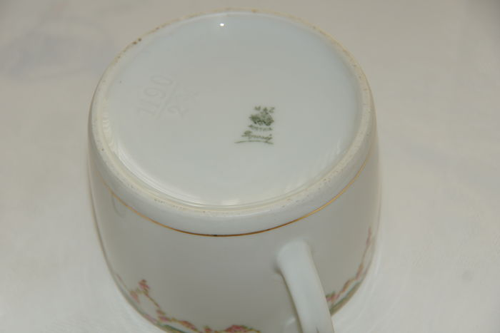 Moritz Zdekauer-MZ Austria porcelain coffee/tea set - good