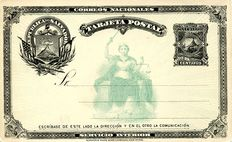 El Salvador - 19th Century collection of Postal Stationery, 85 different items.
