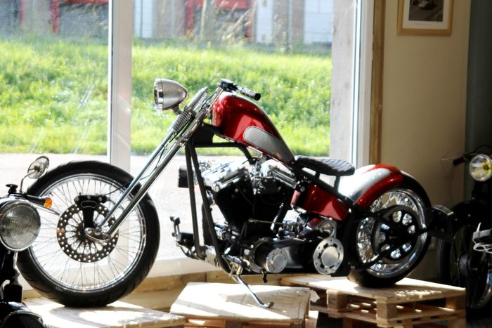 harley davidson 1340 softail chopper 1984 catawiki. Black Bedroom Furniture Sets. Home Design Ideas