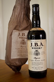 "J.B.A. Byron Japanese Whisky ""The Best Barman's Choice"""