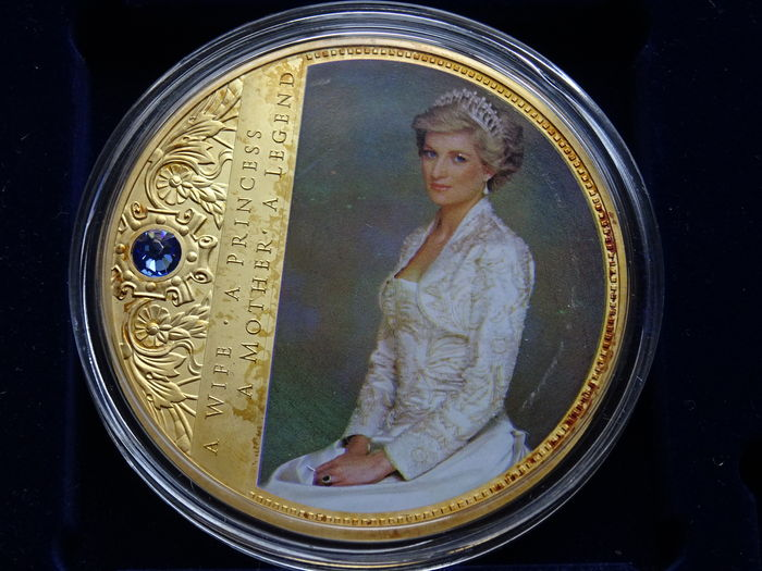 lady diana coin