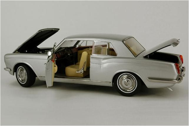 Paragon Models - Escala 1/18 - Rolls-Royce Silver Shadow MPW 2 puertas Coupe LHD
