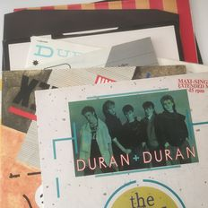 Duran Duran, collection of 10 original records including various promo releases and superb Duran Duran Megamix promo