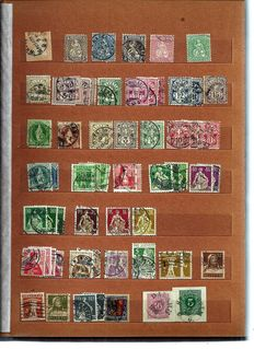 World - collection of stamps, including from Germany, Switzerland, Comoros and Panama.